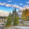 Wonderful mountain stream landscape hdr HD wallpaper