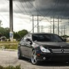 Mercedesbenz clsclass schwarzen Autos  HD wallpaper