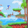 Spikes digital art artwork retro sega sea HD wallpaper