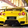 Yellow nissan jdm japanese domestic market gtr tuner HD wallpaper