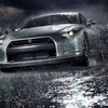 Cars rain HD wallpaper