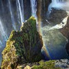 Rainbow over victoria falls HD wallpaper