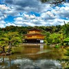 Kyoto hdr photography golden pavilon kinkakuji HD wallpaper