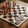 Fantasy chess scary people animation entertainment HD wallpaper