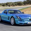 Electric coupe 2014 sls amg mb mercedes HD wallpaper