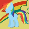 Ponies rainbow dash pony: friendship is magic HD wallpaper