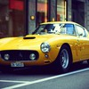 ferrari Vintage jaune  HD wallpaper