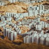 Hong kong cityscapes depth of field infrared tilt-shift HD wallpaper