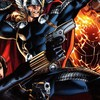 Comics thor schwarze Witwe Kunstwerk bestaunen  HD wallpaper