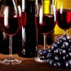 Bottles food glass grapes wine HD wallpaper