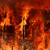 Dramatic wildfire HD wallpaper
