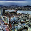 Panorama Seoul Südkorea  HD wallpaper
