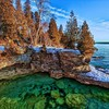 Paysages nature Lake Michigan  HD wallpaper