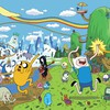 Adventure time rainbows HD wallpaper
