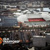 Aerial stadium old trafford HD wallpaper