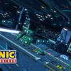 Space stars futuristic machines racing game lasers HD wallpaper