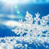 Ice sun sunlight snowflakes reflections HD wallpaper