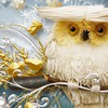 Wise winter owl HD wallpaper