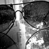 Glasses drops HD wallpaper