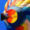 Fire balloons air HD wallpaper