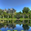 Bodnant estate and gardens in conway wales HD wallpaper