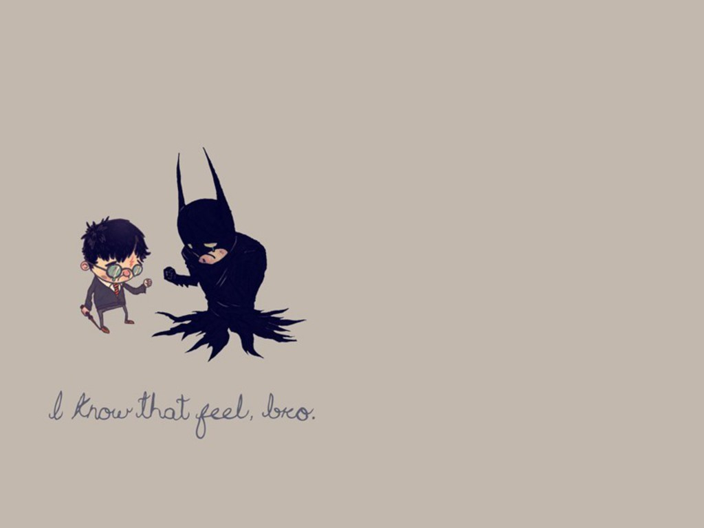 Most Inspiring Wallpaper Mobile Harry Potter - batman-minimalistic-text-humor-harry-potter-crossovers-1024x768-wallpaper  Pictures_645176.jpg