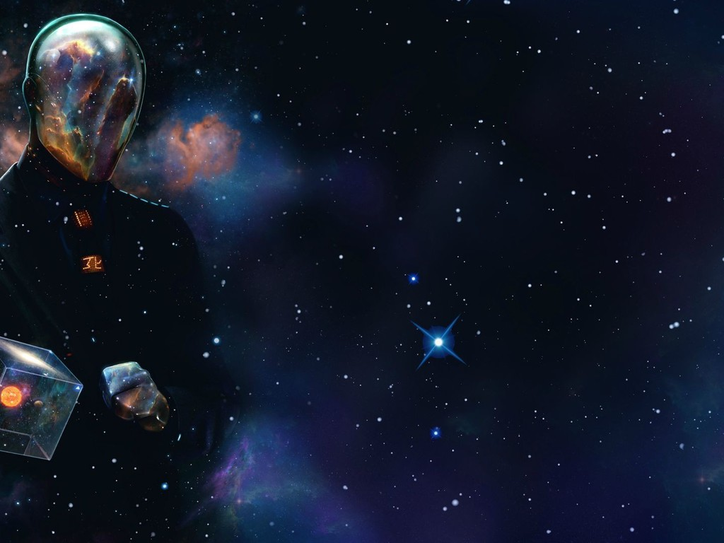 Hex last man standing men outer space wallpaper for Space wallpaper 1366x768