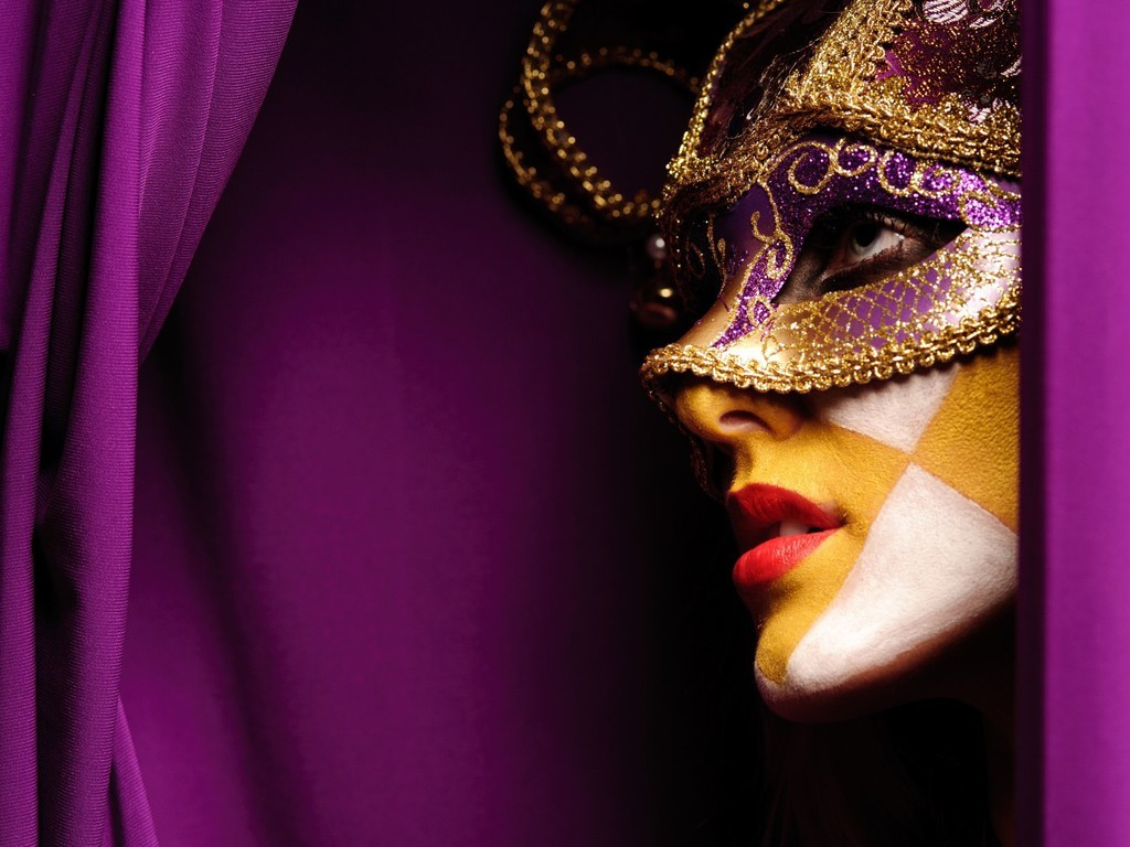 purple carnival mask wallpapers - photo #2