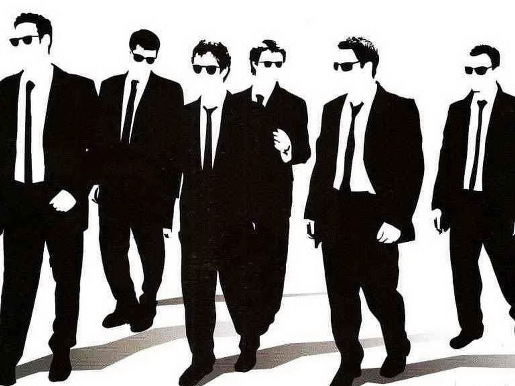 Reservoir dogs silhouettes wallpaper  AllWallpaper.in 3709  PC  en