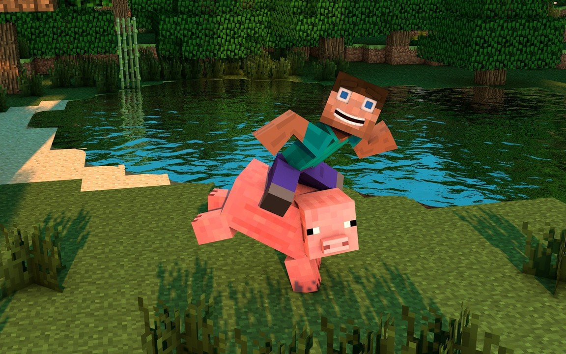 minecraft pig wallpapers download - photo #12