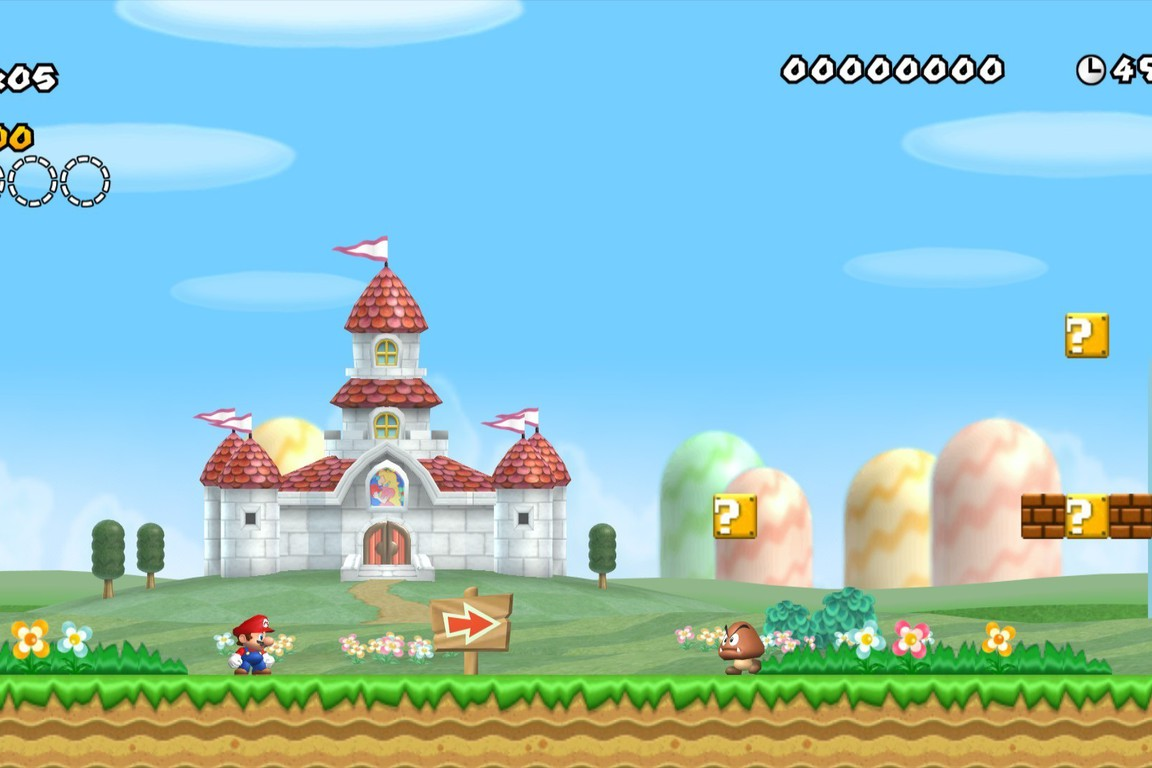 New Super Mario Bros Wii Play Online