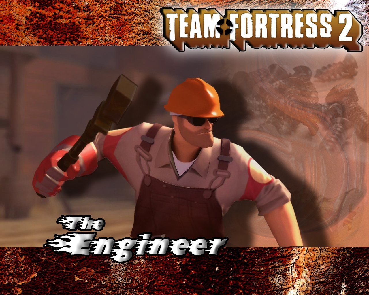 video games engineer tf2 team fortress 2 engineers