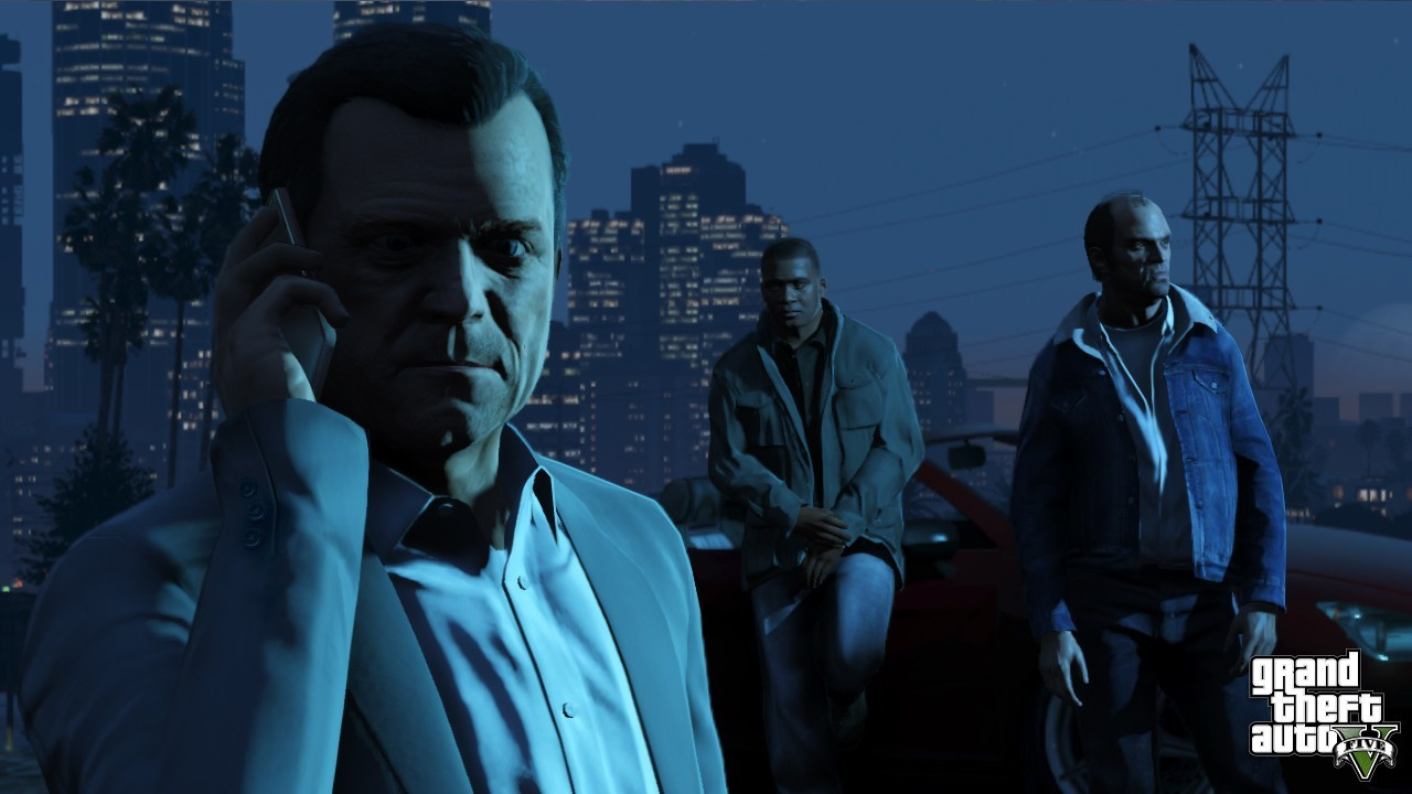Grand Theft Auto Gta 5 2013 Wallpaper