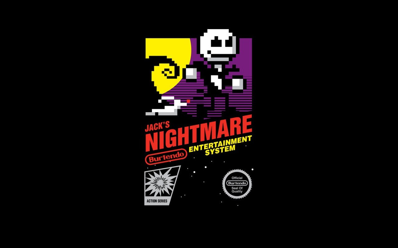 Nightmare before christmas retro games nes game wallpaper ...