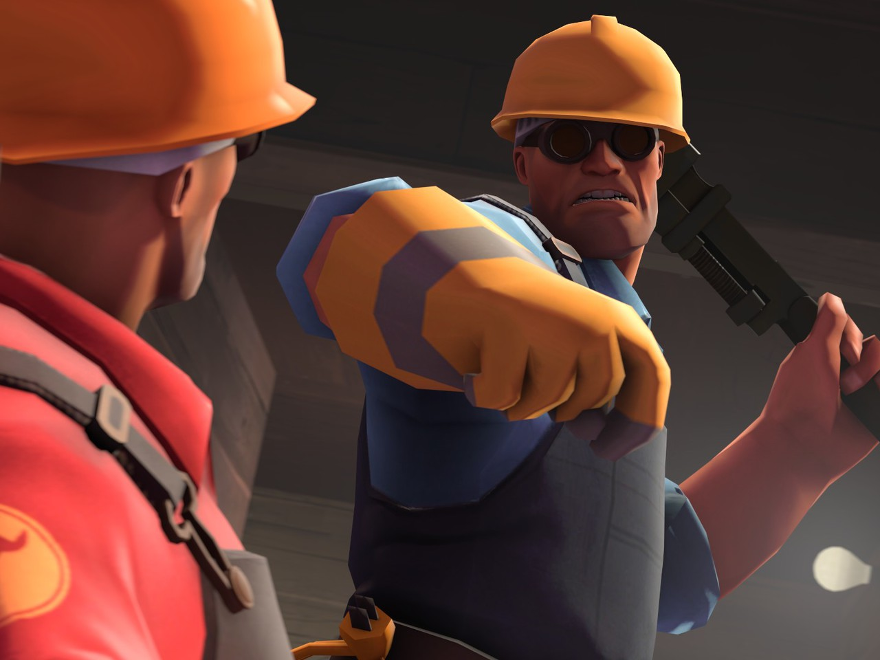 Video games engineer tf2 team fortress 2 wallpaper ...