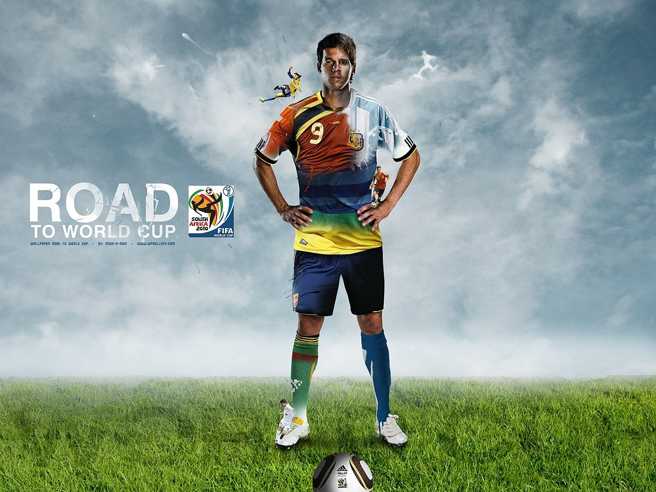 Soccer World Cup Football Player Wallpaper