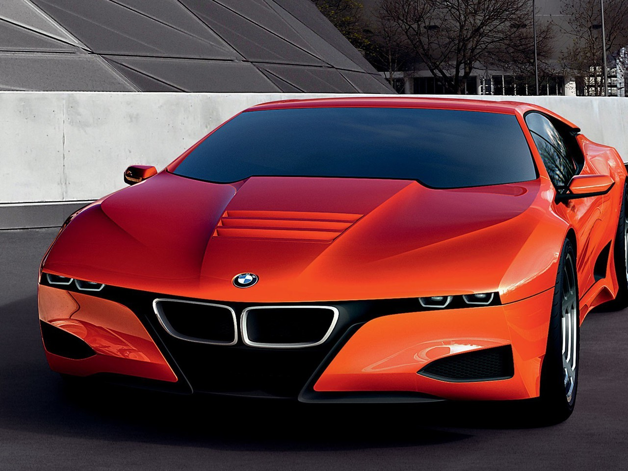 Bmw M1 Cars Concept Art Glossy Texture Pearlescence