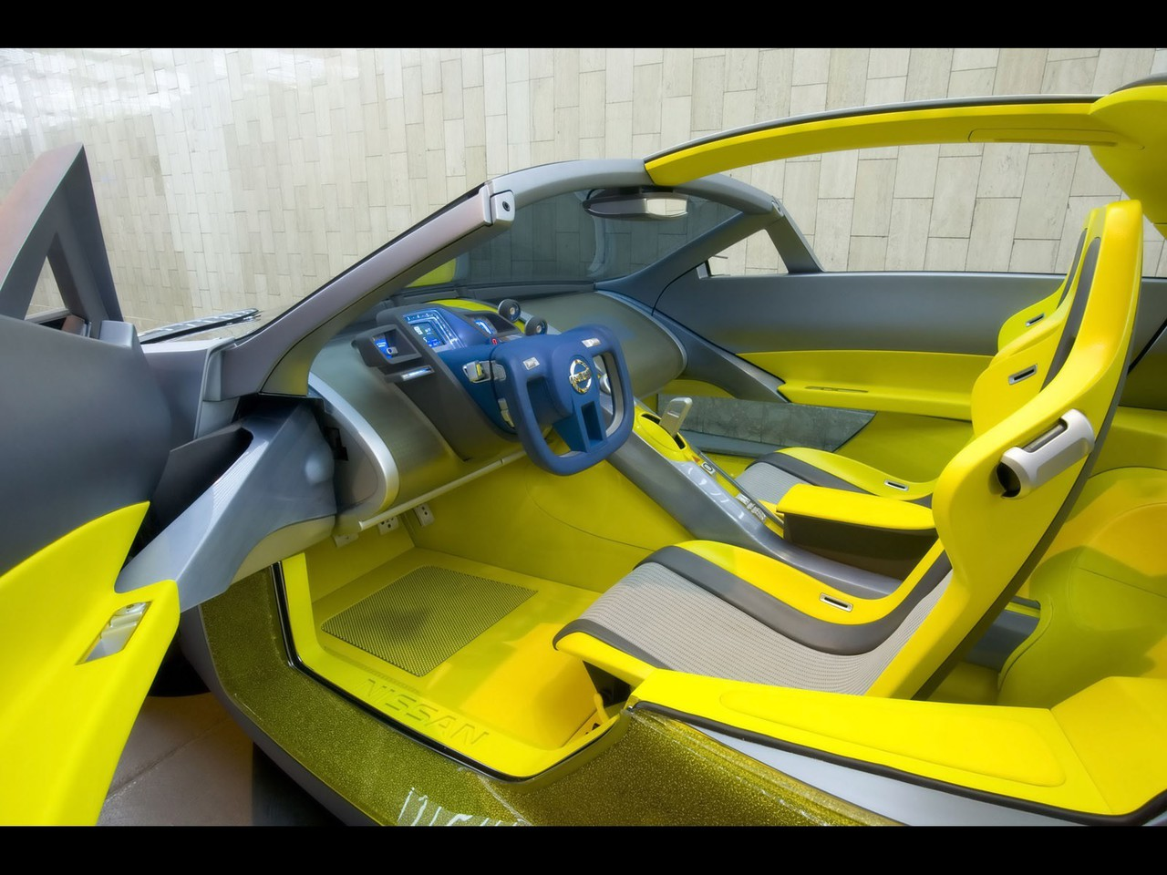 cars interior nissan concept art 2006 wallpaper 7074 pc en. Black Bedroom Furniture Sets. Home Design Ideas