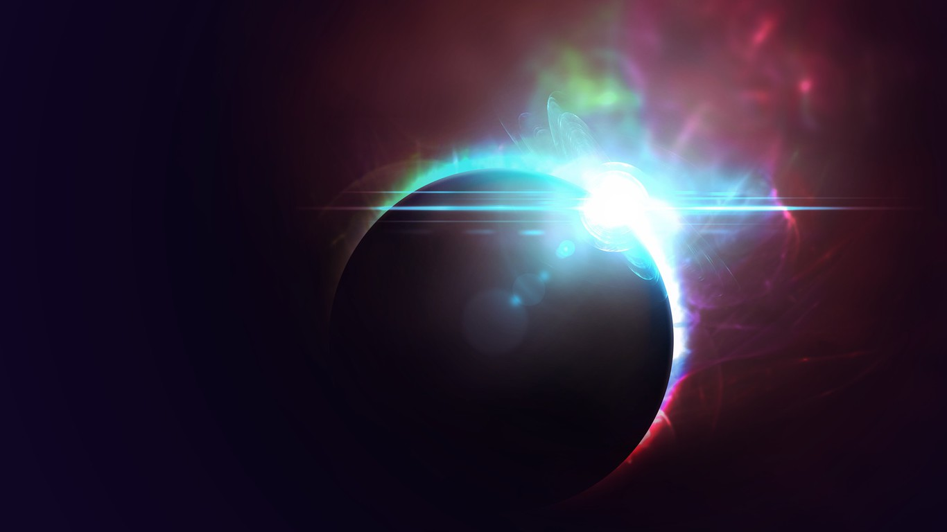 Outer Space Eclipse Wallpaper Allwallpaper In 11431