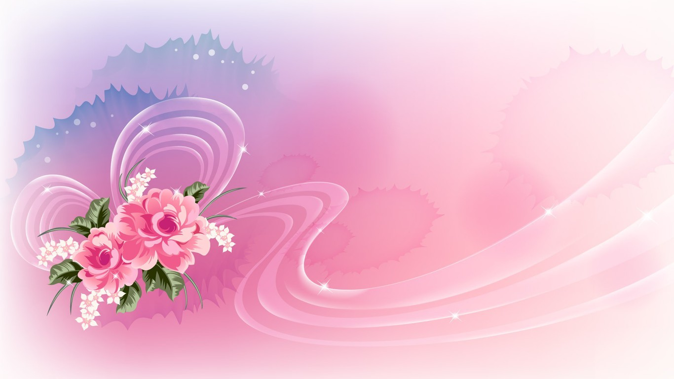 Flowers Creative Wallpaper
