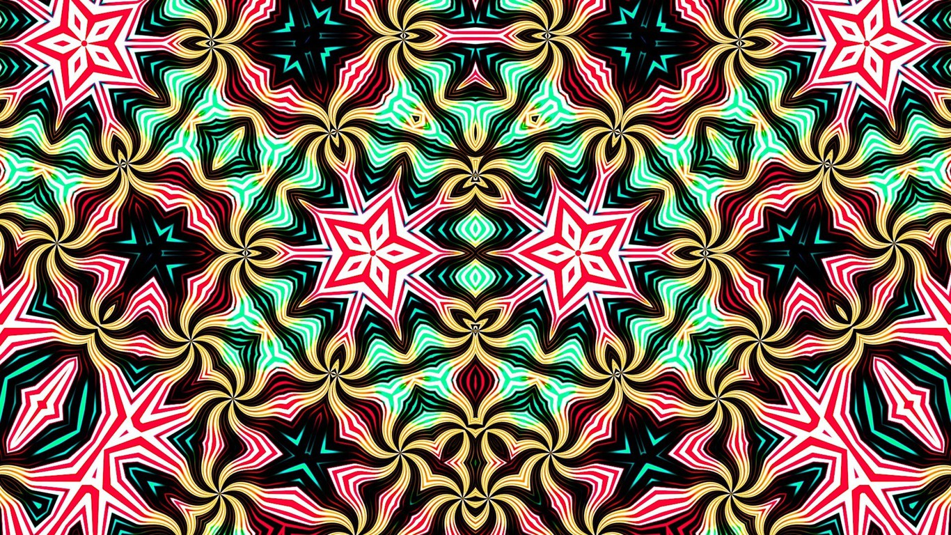 Kaleidoscope Psyche Abstract Backgrounds Colors Wallpaper HD Wallpapers Download Free Images Wallpaper [1000image.com]