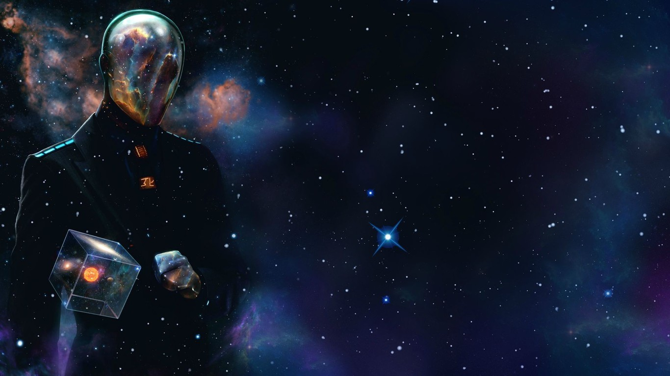 Hex last man standing men outer space wallpaper - Wallpaper 1366x768 space ...