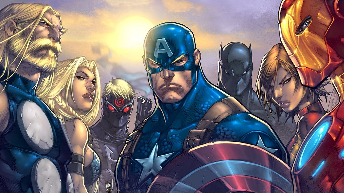 Great Wallpaper Marvel Odin - comics-thor-captain-america-marvel-ultimates-avengers-1366x768-wallpaper  Graphic_943261.jpg