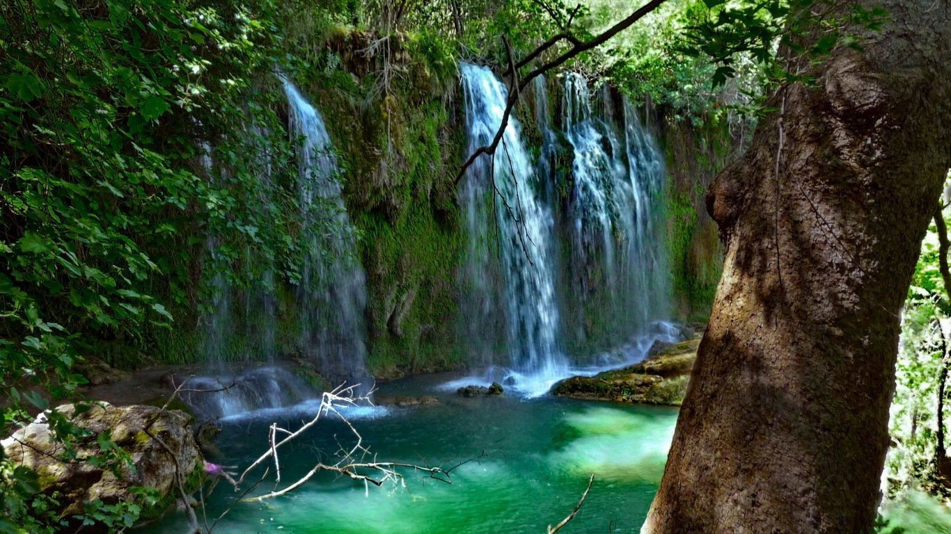 landscapes nature waterfalls wallpaper | allwallpaper.in #3429 | pc | en