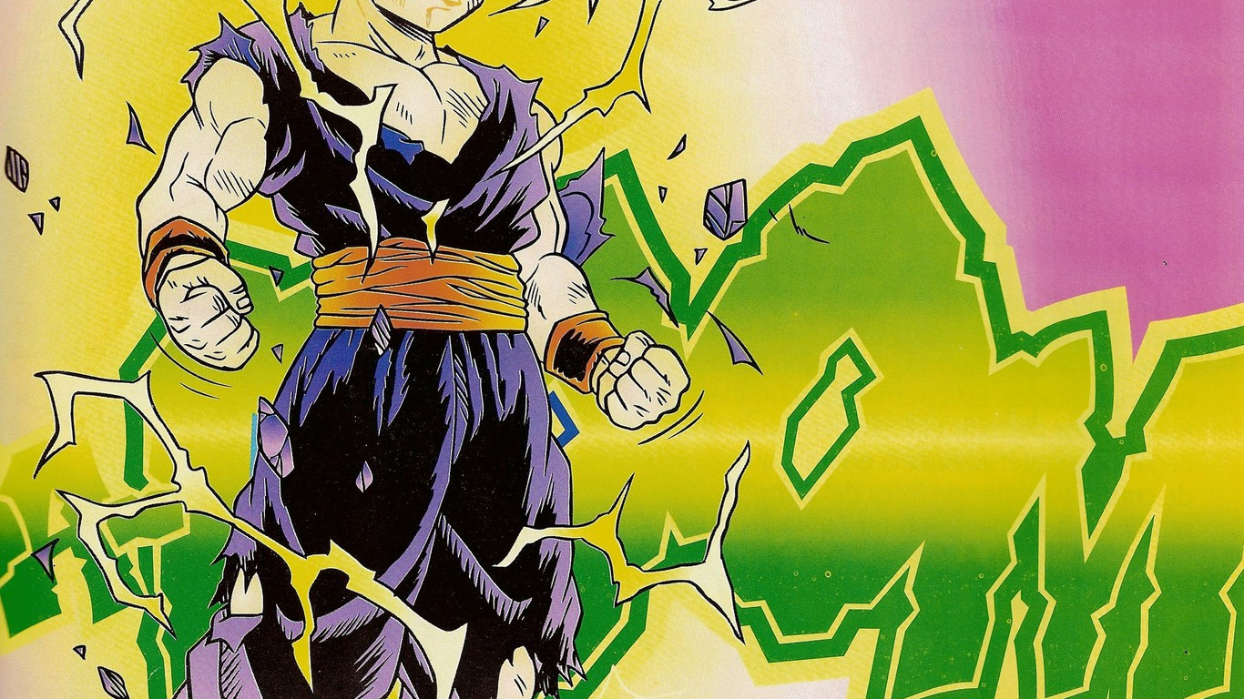 Dragon ball z son gohan papier peint - Papier peint dragon ball z ...