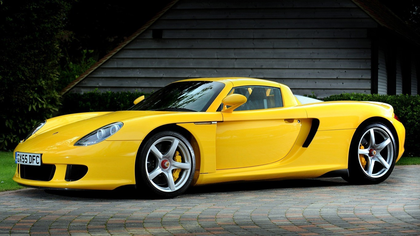 supercars porsche carrera gt wallpaper 447 pc en. Black Bedroom Furniture Sets. Home Design Ideas