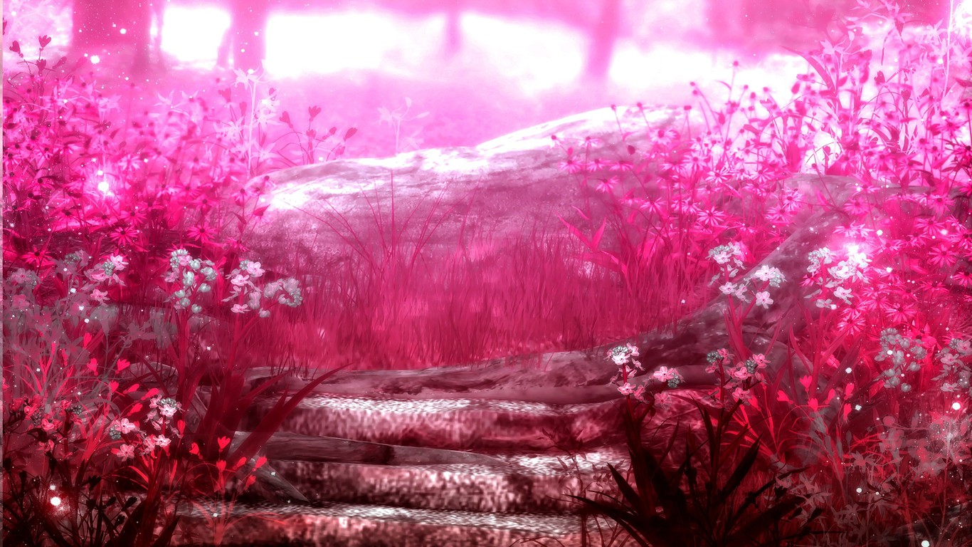 wallpapers wide 1366x768 pink -#main