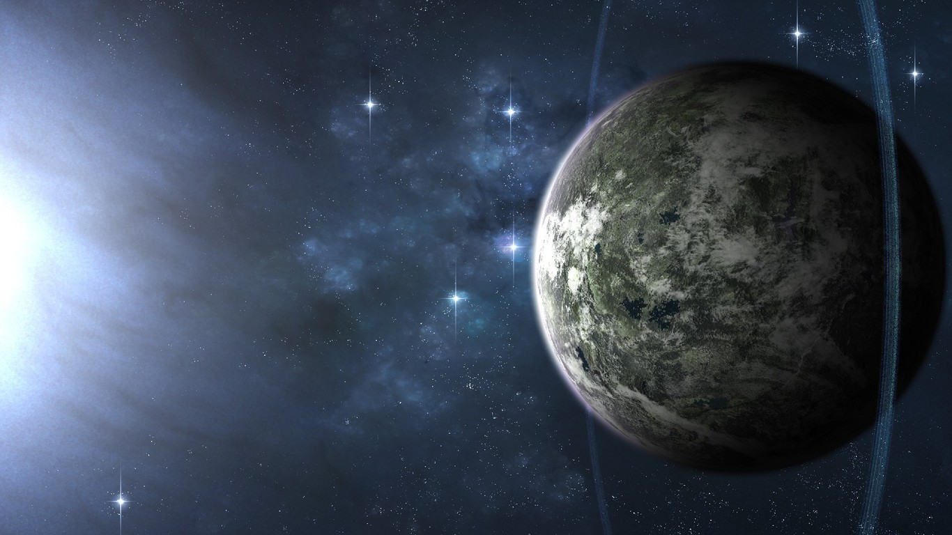 Outer space planets science fiction wallpaper ...