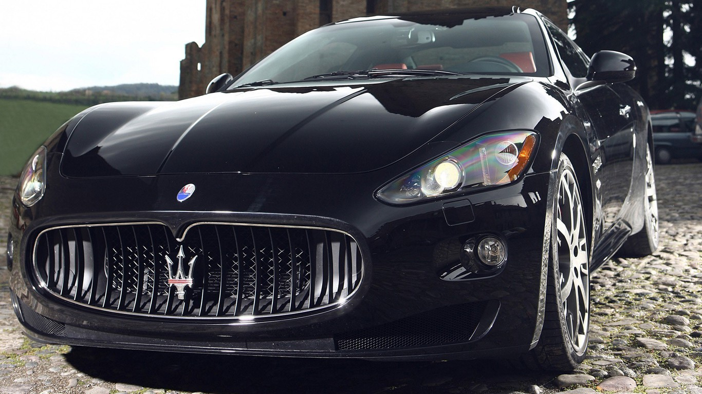 Maserati Automobiles Cars Speed Transportation Wallpaper