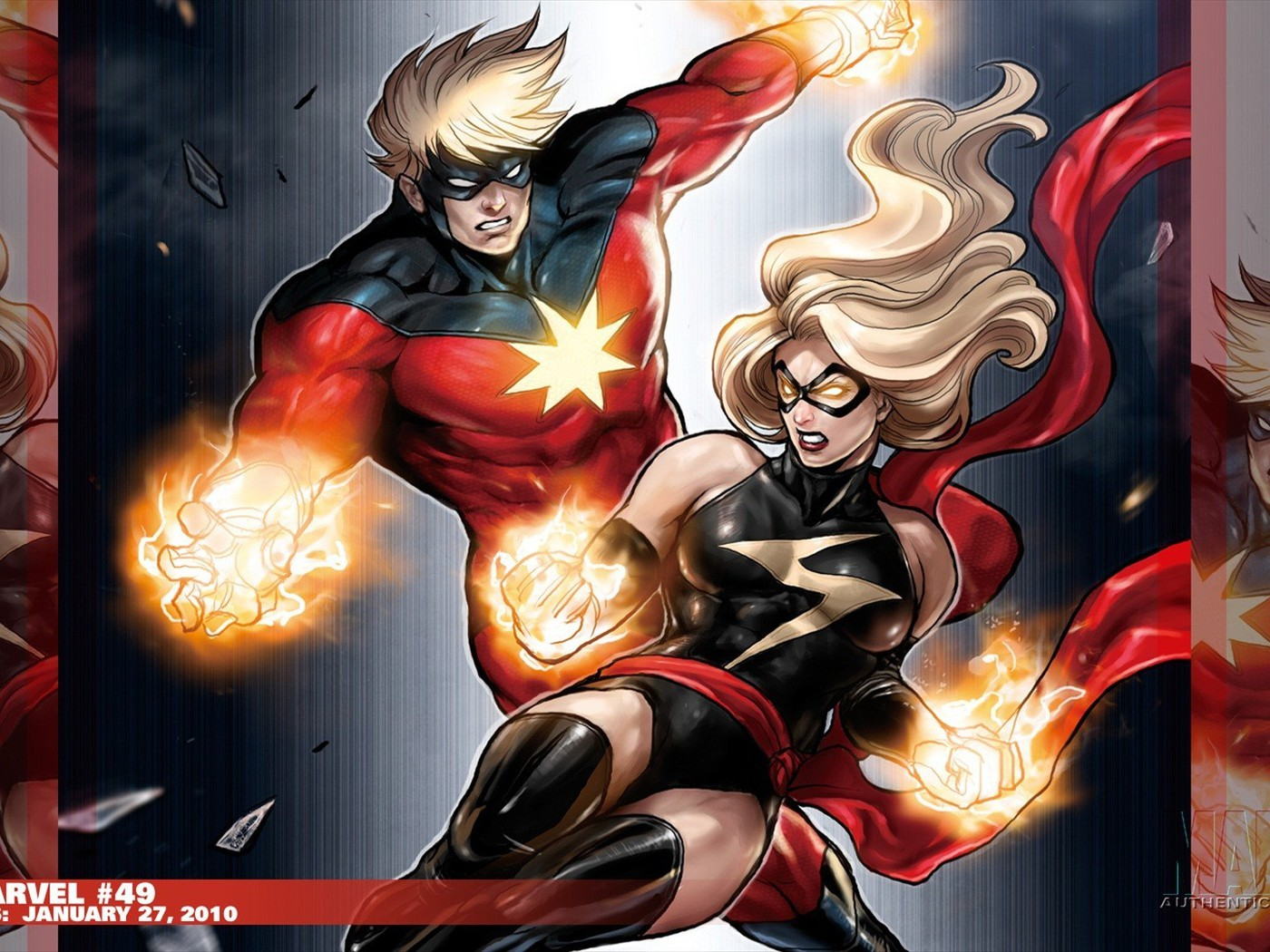 11 Best Hd Wallpapers From The Marvel Universe That You: Captain Marvel Comics Ms. Wallpaper